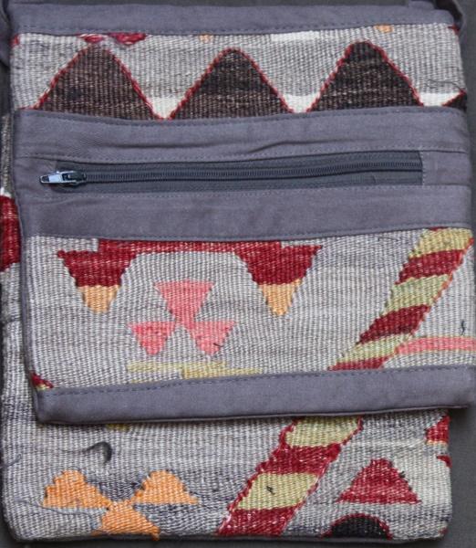 H123 Anatolian Kilim Handbag
