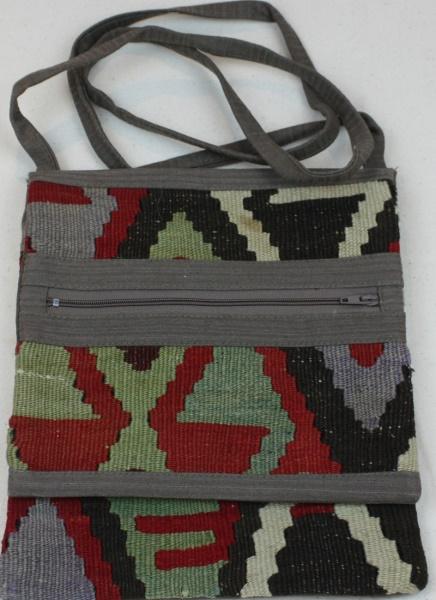 Anatolian Kilim Handbag H106