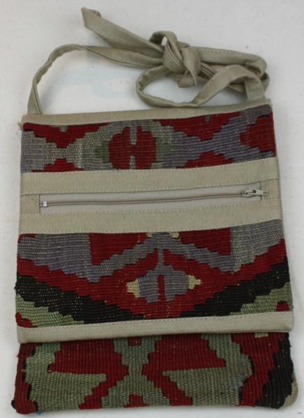 Anatolian Kilim Handbag H66