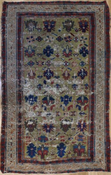 R3384 Antique Caucasian Chichi rug