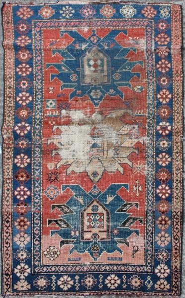R3230 Antique Karabagh Rug