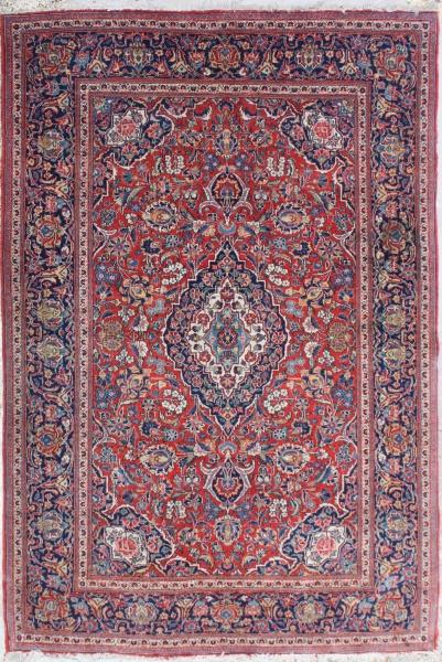R6011 Antique Kashan Rug