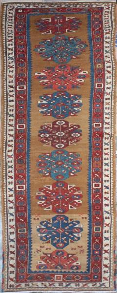 R2124 Antique Kazak Carpet Runner