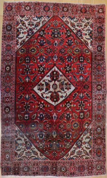 R3377 Antique Persian Rug