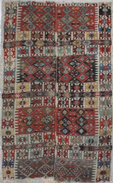 R6497 Antique Turkish Kilim