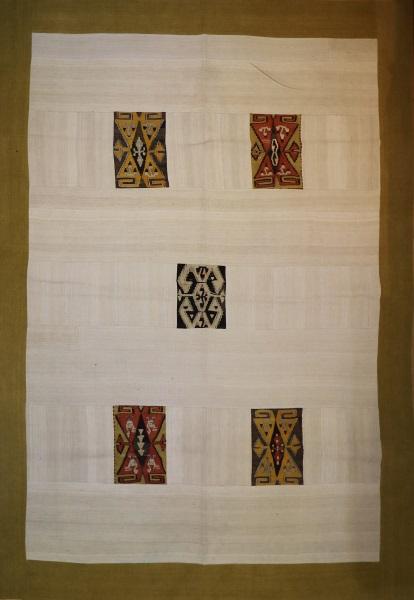 R1756 Antique Turkish Kilim Patchwork