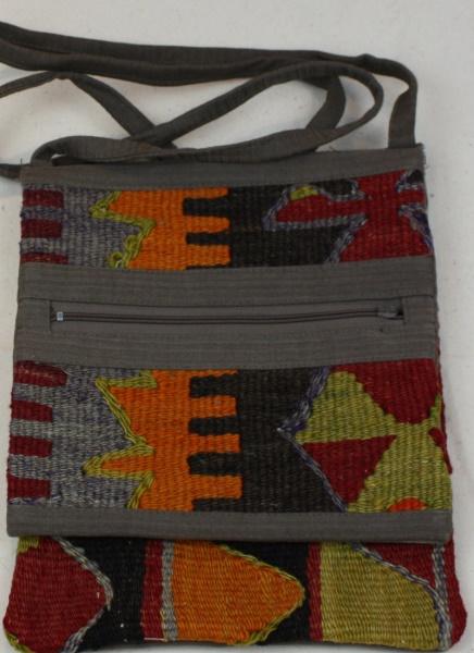 Beautiful Turkish Kilim Handbag H100