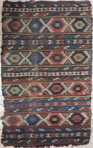 R6499 Caucasian Kilim Rug