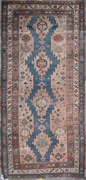 Antique Karabagh Carpet Runner F827