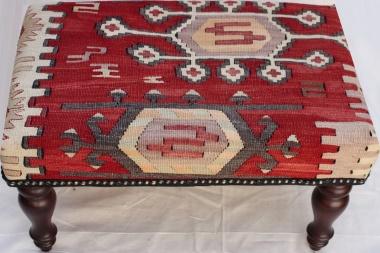 R5954 Kilim Cover Stool