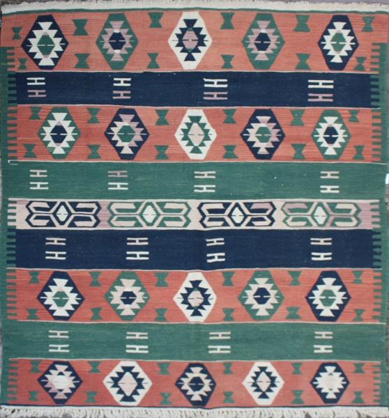 R5522 New Turkish Konya Kilim Rug
