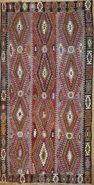 R4597 Old Anatolian Esme Kilim Rug