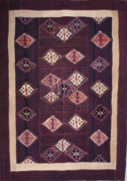 R3145 Yomut Carpet Patchwork