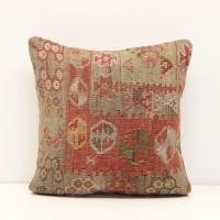 S376 Anatolian Kilim Cushion Cover