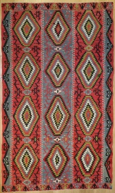 R8022 Anatolian Vintage Kilim Rug