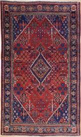 R8358 Antique Persian Joshagan carpet