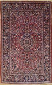 R8472 Antique Persian Kashan Rugs
