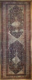 R5177 Antique Persian Malayer Rug