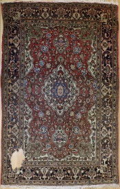 R6899 Antique Persian Tabriz Rug