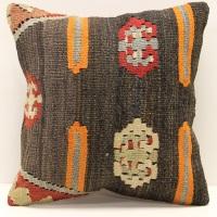 S241 Antique Turkish Kilim Pillow Cover