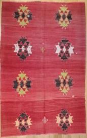 R8060 Beautiful Vintage Kilim Rug