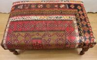 R4006 Handmade Table Kilim Stool