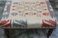 R4523 Kilim Covered Stools