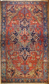 R4815 Persian Heriz Carpet