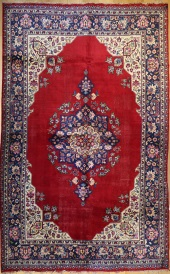 R367 Persian Kashan Carpet