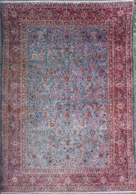 R7541 Persian Kashan Carpet