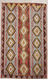R7674 Turkish Esme Kilim Rug