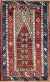 R4488 Turkish Konya Obruk Kilims