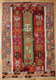 R8175 Vintage Turkish Esme Kilim Rugs