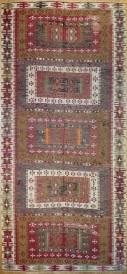 R8024 Vintage Turkish Kilim Rug