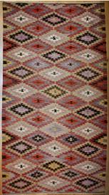 R8210 Vintage Turkish Kilim Rug