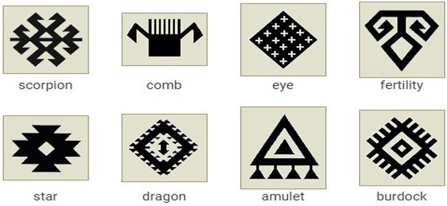 Turkish Carpet Motifs