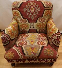 R8679 Antique Howard Kilim Chair