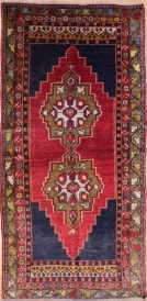 F1058 Turkish Old Anatolian Rugs