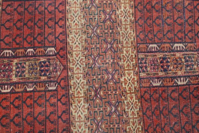 Antique Turkmenistan Ensi Rug Low Prices On Turkmenistan