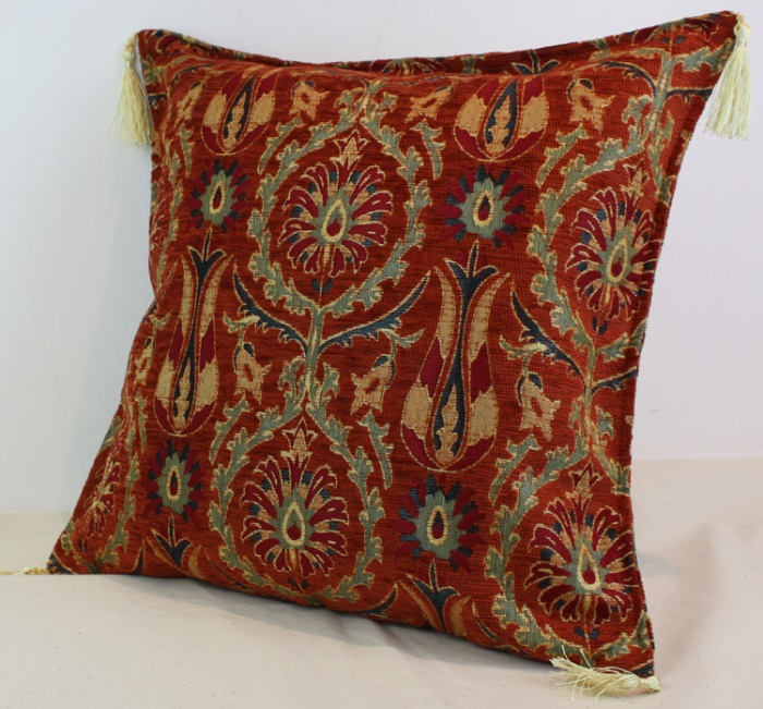 Decorative Pillow Fabric : Decorative Fabric Pillow Cushion Covers - 8964