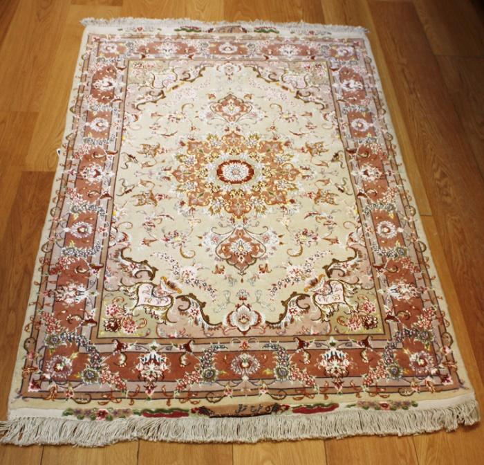 Handmade Indian Persian Rugs: Handmade Persian Silk And Wool Tabriz Rugs At Rug Store