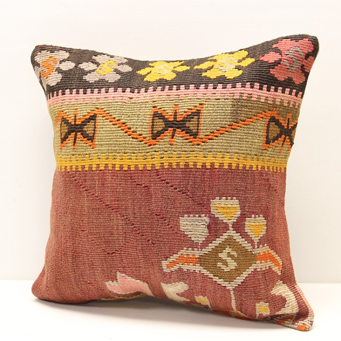 This fabulous contemporary Kilim Cushion Cover will stun all your friends - 2322