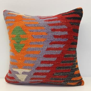 A Beautiful Hand Woven Turkish Kilim Cushion Cover M279