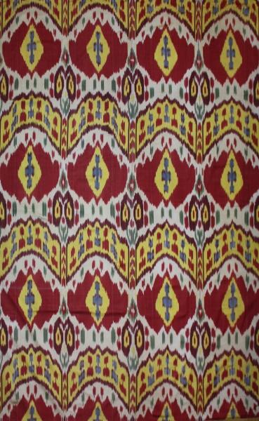 R8326 Absolutely Beautiful  Silk Ikat Textiles