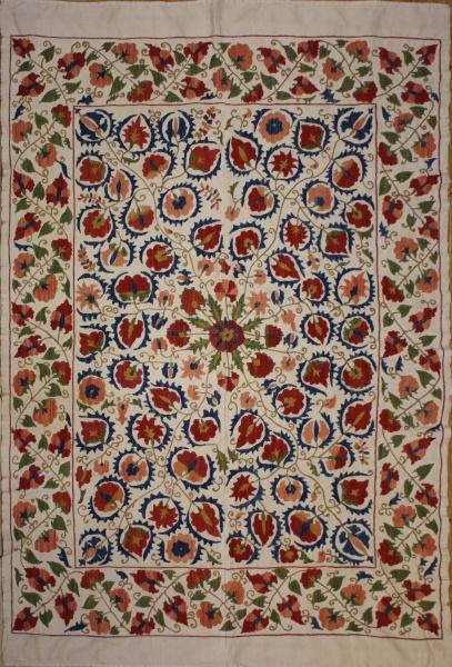 R8454 Absolutely Beautiful Silk Suzani Embroidery