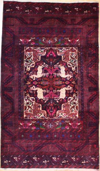 R9122 Afghan Belouch Rug