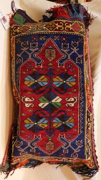 R8390 Afghan Carpet Floor Cushion Cover