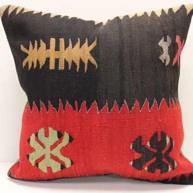 L489 Afghan Kilim Cushion Cover