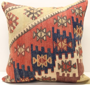 L629 Afghan Kilim Pillow Cover