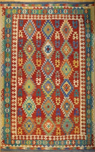 R9369 Afghan Kilim Rug
